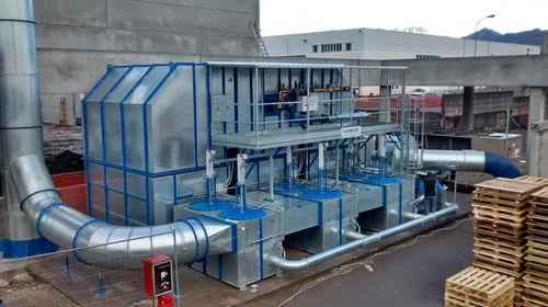 thermische Oxidationsanlage / regenerativ