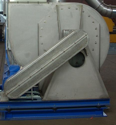 zentrifugaler Ventilator / Ablauf / Luftumwälz / Metall