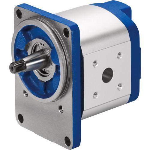 Außenzahnrad-Hydraulikpumpe / geräuscharm / konstanter Hubraum / für große Volumen