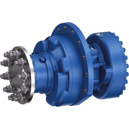 Radialkolben-Hydraulikmotor / mit niedriger Drehzahl / kompakt