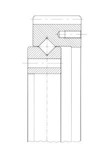 Rollenlager / 1-reihig / Stahl