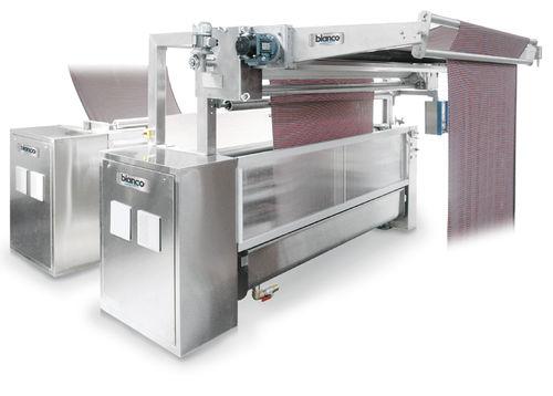 hydraulische Presse / Kompression / vertikal / für Textilien