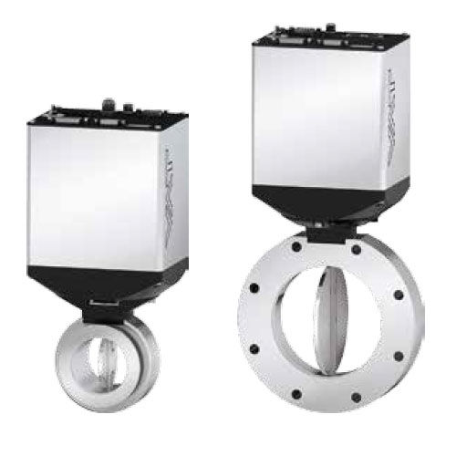 Druckregulierungsventil / mit Absperrklappe / elektrisch betrieben / mit ISO-Flanschanschluss