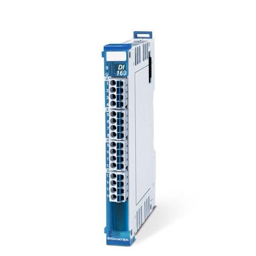 digitales Eingangsmodul / Durchflussmengenzählung / 16 Kanäle / DIN-Schienen
