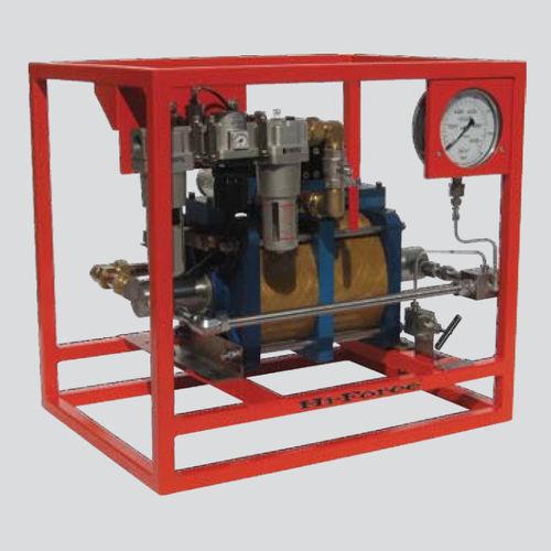 Chemikalienpumpe / luftbetrieben / Industrie / für hydrostatische Druckprüfung
