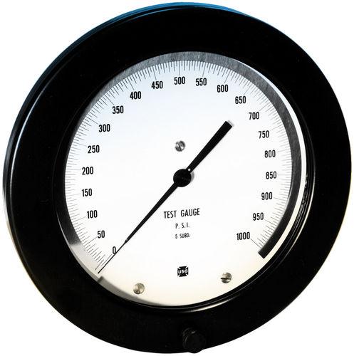 Manometer mit Zifferblatt-Anzeige / Rohrfeder / Vakuum / Test