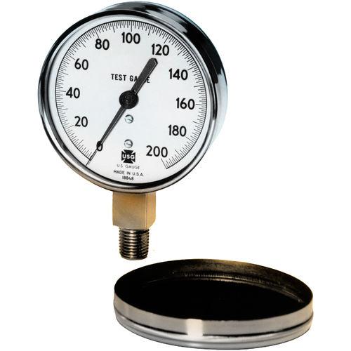 analoges Manometer / Rohrfeder / Test / Kalibrier