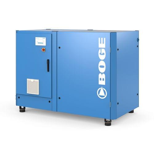 Luftkompressor / stationär / elektrisch / Schrauben