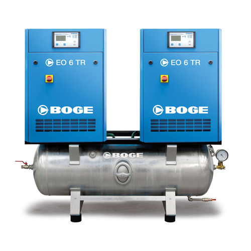 Luftkompressor / stationär / elektrisch / Scroll