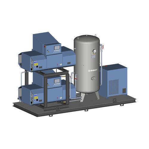 Luftkompressoraggregat / Schrauben / ölfrei