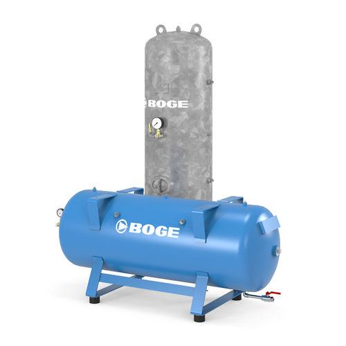 Druckluftbehälter / Metall / unter Druck / Puffer