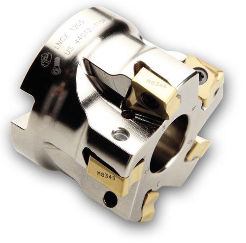 Walzenstirnfräser / Wendeplatten / für Ecken / für Aluminium