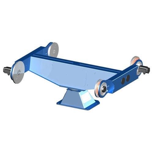 motorisierter Positionierer / drehbar / 2-Achs / für Roboter