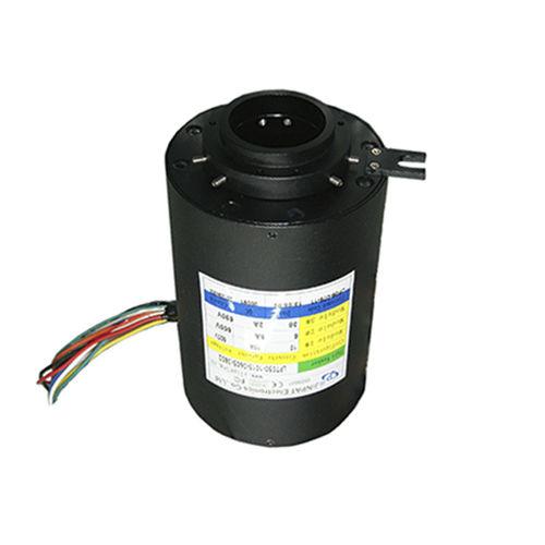 Schleifring zur Leistungs- und Signalübertragung / Hohlwelle / für Kräne / kompakt