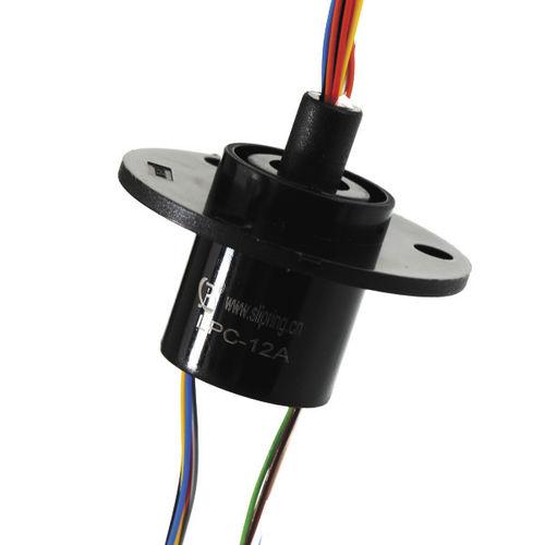 elektrischer Schleifring / Kapsel / für medizinische Geräte / 12 drähten