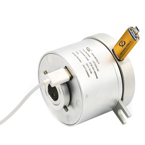 USB-Schleifring / Vibrationsverdichter / anodisiertes Aluminium