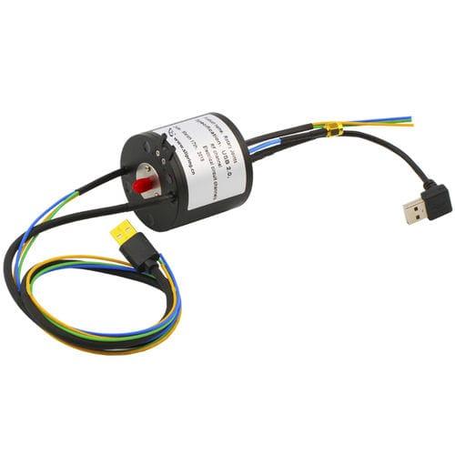 USB-Schleifring / Vibrationsverdichter / Metall / robust