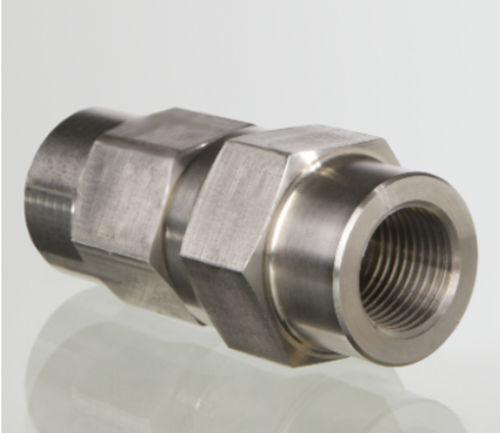 Kugelrückschlagventil / Gewinde / Stahl