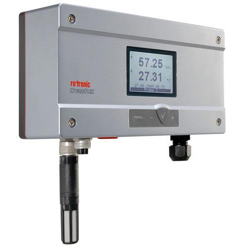 Feuchte- und Temperatursensor / relativ / für Wandmontage / schaftmontiert / für Industrieanwendungen