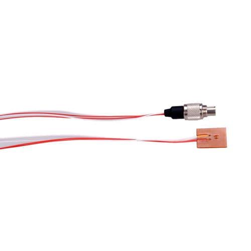 Pt100-Temperaturfühler / SMD / mit Kabel / 4-Leiter