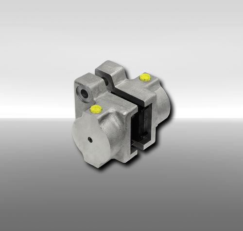 Scheibenbremszange / hydraulische Betätigung / Federlockerung