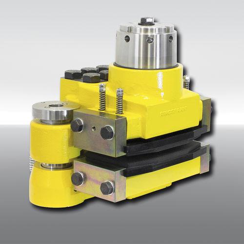 Bremszange mit Scheibe / mit hydraulischer Lockerungssteuerung / gefederte Spannung