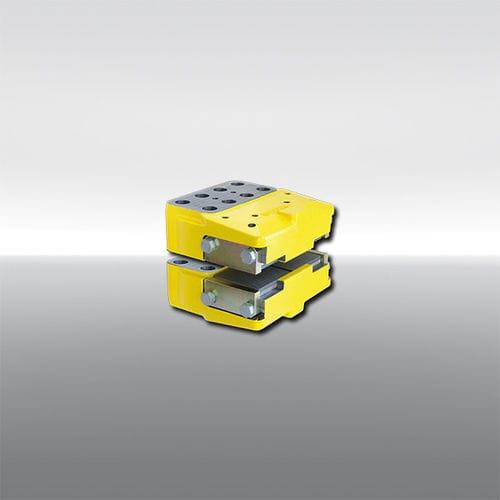 Bremszange mit Scheibe / hydraulische Betätigung / Federlockerung