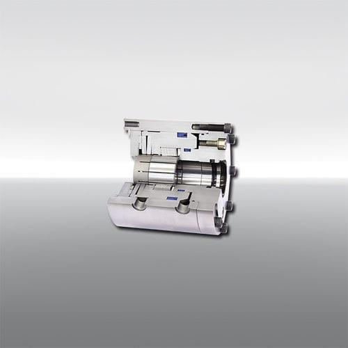 Spannvorrichtung / hydraulisch gesteuert / Welle