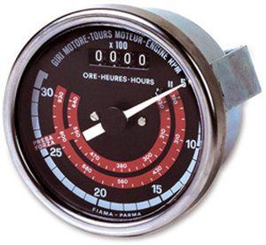 Tachometer-Zähler / analog / elektromechanisch
