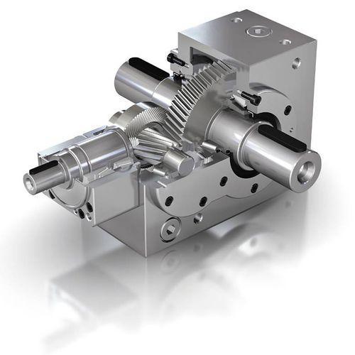 Kegelradgetriebe / Winkelumlenkung / geräuscharm / mit geringem Spiel