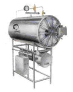 Prozess-Autoklav / Vakuum / horizontal