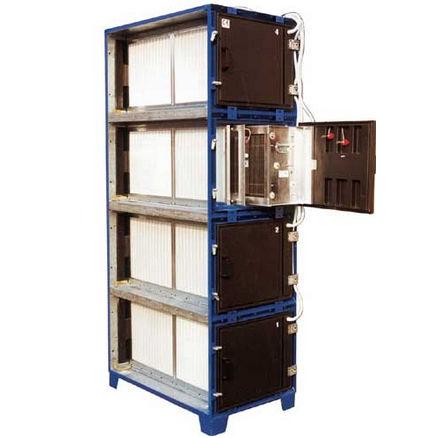 Filter für Schweißrauch / Aktivkohle / Hochleistung / modular