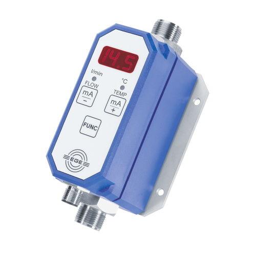 thermischer Durchflussmesser / für Wasser / mit Analogausgang / programmierbar