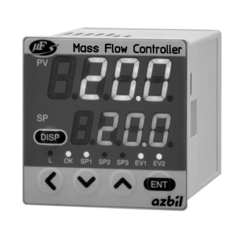 Durchflussregler / thermisch / Massenstrom / für Gas / für Einbau