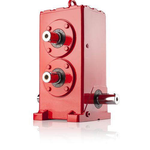 Räderwerk-Getriebe / Winkelumlenkung / für hohe Belastungen / für Radnaben und Ketten