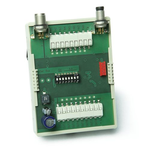 digitales E/A-Modul / RS485 / 8 E/A / DIP