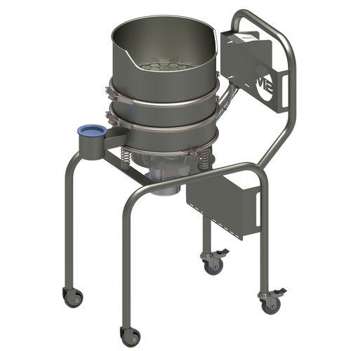 Kreisschwing-Siebmaschine / Vibration / mobil / für Saatgut und Getreide
