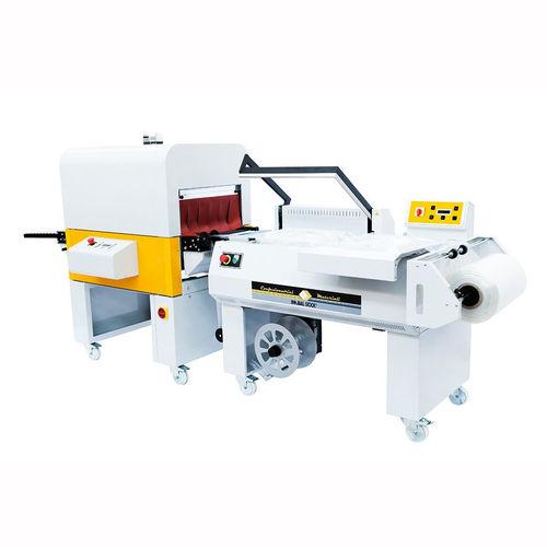 halbautomatische Schrumpffolienverpackungsmaschine / Platten / für Flaschen / für Holz
