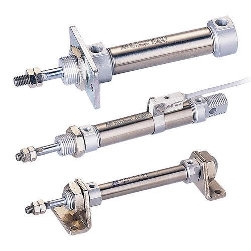 Linearantrieb / pneumatisch / Doppel / einfach