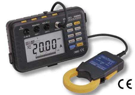 digitales Stromzangen-Multimeter / tragbar / AC / DC