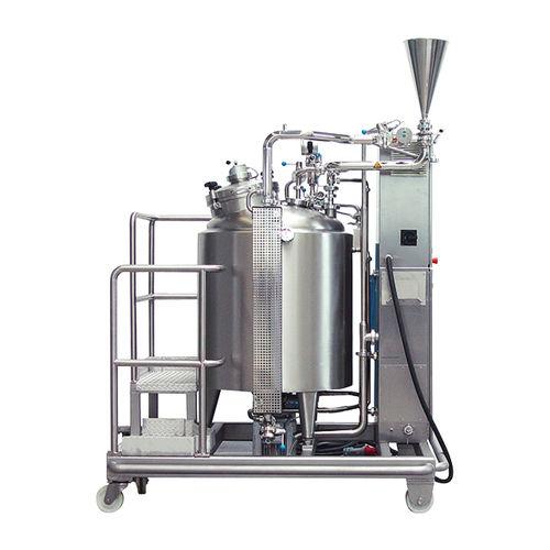 Metallbehälter / zur Vorbereitung / vertikal