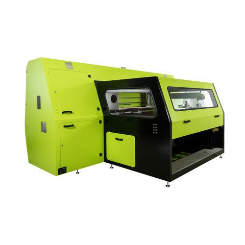 automatische Siebdruckmaschine / mehrfarbig / für Textilien / digital