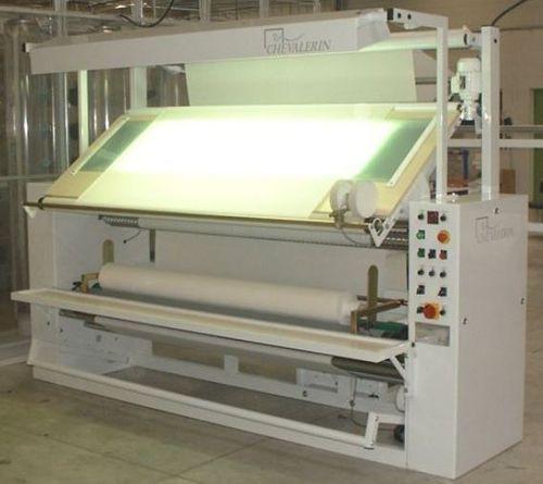 Schaumaschine für Stretchgewebe / Rollreffanlage
