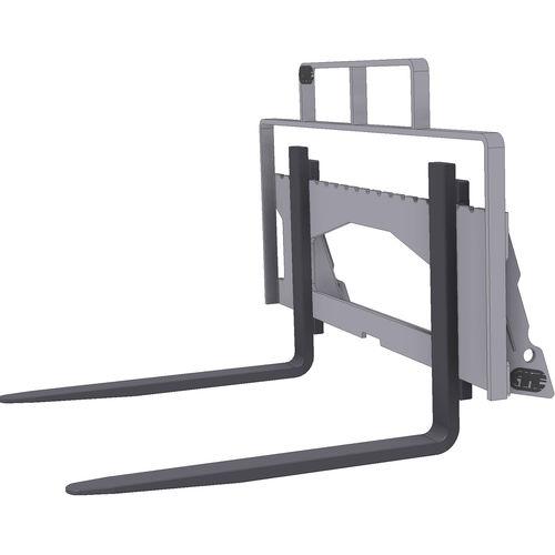 Palettengabel für Kompaktlader / für Palettenumschlag