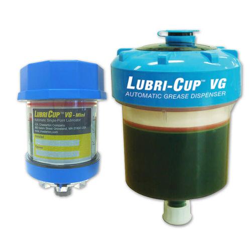 Einzelpunkt-Schmierstoffgeber / elektrochemisch / automatisch / mit variablem Förderstrom