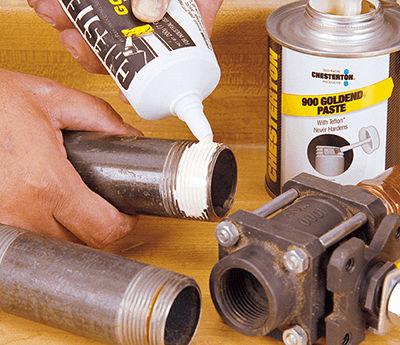 Schmierpaste / PTFE / für Metall / Schrauben