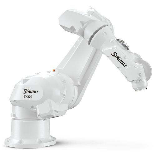 Knickarmroboter / 6-Achs / bodenstehend / für Deckenmontage