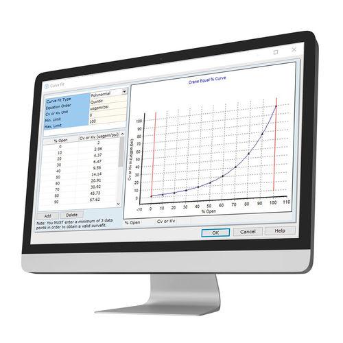 Software zur Berechnung des Druckverlustes - CASPEO