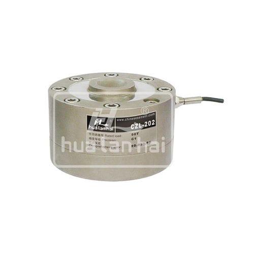Druckkraft-Wägezelle / Knopf / Stahl / für Behälterwaagen