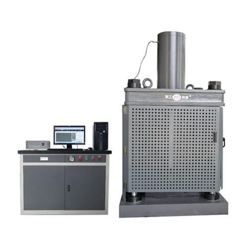 Kompressionsprüfmaschine / elektrohydraulisch